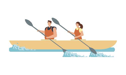 Activité Nautique (kayak, navigation)